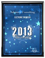 Adamson Consulting Receives 2013 Best of Boulder Award